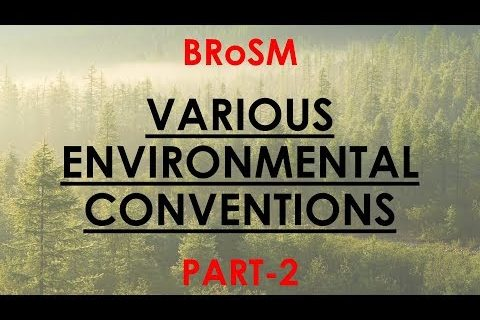 Stockholm and Minamata Convention - Quick Revision Series - Environment for UPSC || IAS